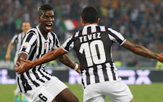 Friends re-United - Pogba and Tevez meet up in China