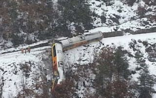 Two dead as tourist train derailed by landslide in French Alps