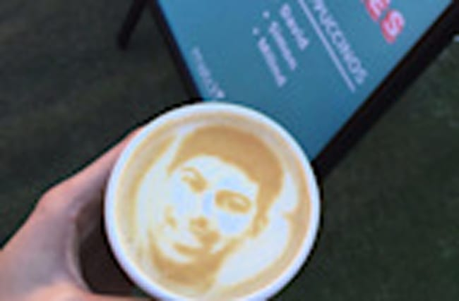 Put Your Face On Your Coffee To Get a Date