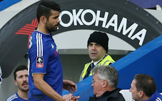 Costa a doubt for West Brom as Hiddink takes cautious approach with Hazard