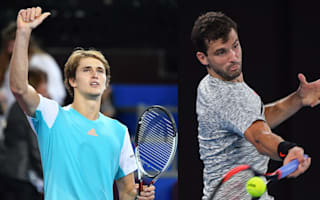 Zverev thwarts all-French final, Dimitrov charge continues