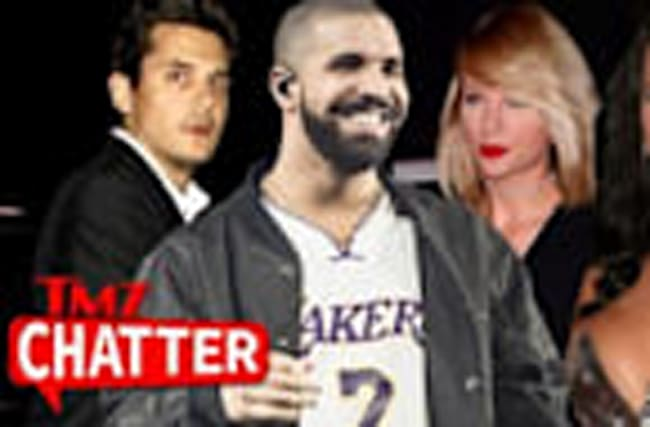 Taylor Swift, John Mayer & Katy Perry at Drake's 30th Bday
