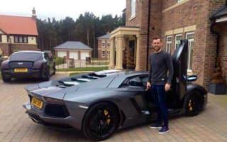 Football fans furious with Sunderland striker's Lamborghini