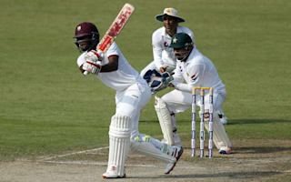 Brathwaite nears century as West Indies recover