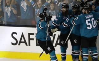 Sharks respond by beating Penguins in OT