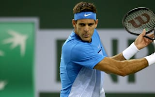 Del Potro aces Indian Wells return