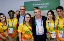 Bach confident Rio problems will be resolved