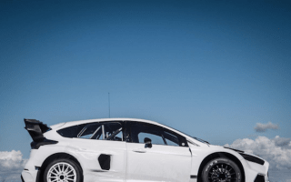 Ken Block has revealed his new 600hp Ford Focus RS Rallycross machine