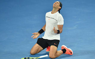 Nadal thrilled by 'dream' victory, calls Federer final a privilege
