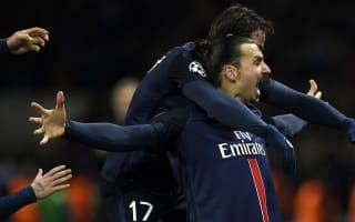Silva hoping Ibrahimovic stays at PSG