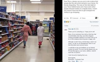Women branded 'disgusting' for going shopping in their pyjamas