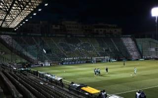 Greek derby called off after violent clashes