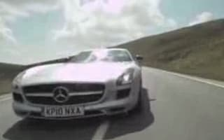 Video: Coulthard hits 160mph on Isle of Man in Merc SLS