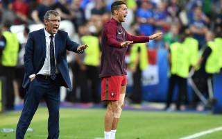 Ronaldo like a 12th player during Euro 2016 final - Santos