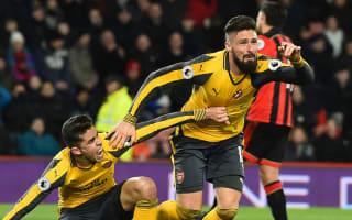 Comeback showed Arsenal should have done better - Giroud
