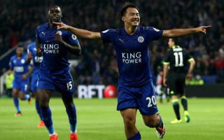 Okazaki shows strength of Leicester options, says Ranieri