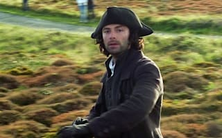 Naked Poldark wins best TV moment of the year... again!