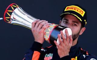 Ricciardo 'envious' of Hamilton-Vettel scrap