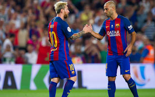 Mascherano ruled out of Barca's Liga opener