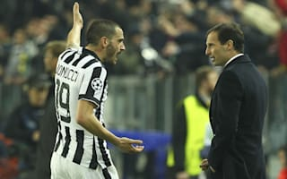 Allegri welcomes back Bonucci following apology