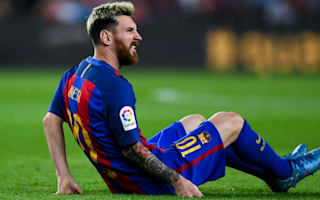 Barcelona 1 Atletico Madrid 1: Messi limps off as Correa snatches a point