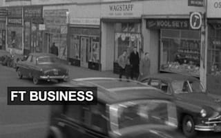 The evolution of the British high street