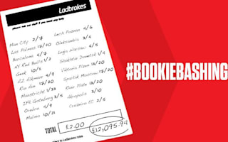 Punter wins £12,000 on £2.20 accumulator