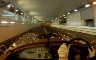 Video: Retro racing in C-Type Jag around Monaco