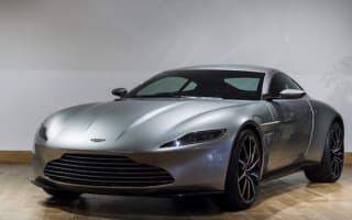 Bond's Aston Martin DB10 begins UK dealership tour