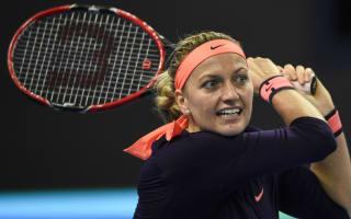 Kvitova suffers fractured foot