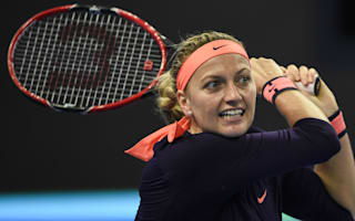 Kvitova suffers fractured foot