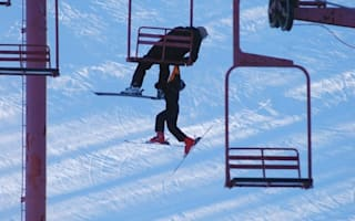 Boy rescued after falling 25ft from ski lift
