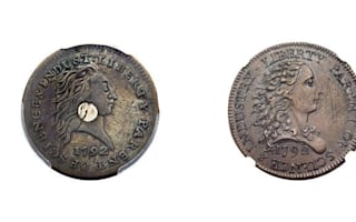 Two pennies just sold for $869,500