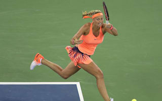 Cibulkova goes the distance again, Kvitova crushes Halep