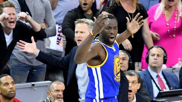 The Night the NBA Finals Got Weird