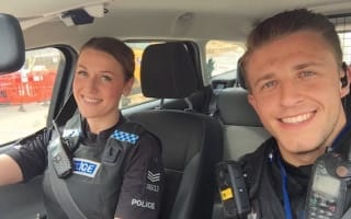 Attractive Essex cops go viral after posting selfie online