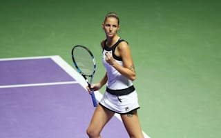 Pliskova outlasts Muguruza in another three-set thriller