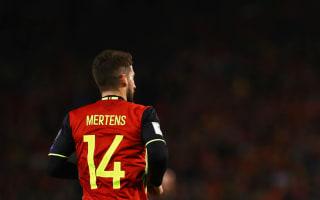 Estonia 0 Belgium 2: Mertens, Chadli see Martinez's men safely past 10-man hosts