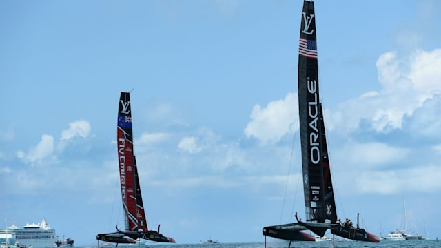 America's Cup: Team New Zealand hold the edge over Team USA