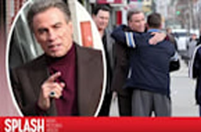 John Travolta Films John Gotti Movie in Brooklyn, New York