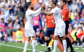 Carvajal: Fans booing Danilo is 'unjust'