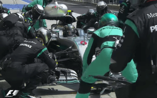 Mercedes' F1 team reckons its 1.73-sec pit stop was fastest ever