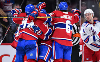 Canadiens rally against Rangers, Penguins lose again