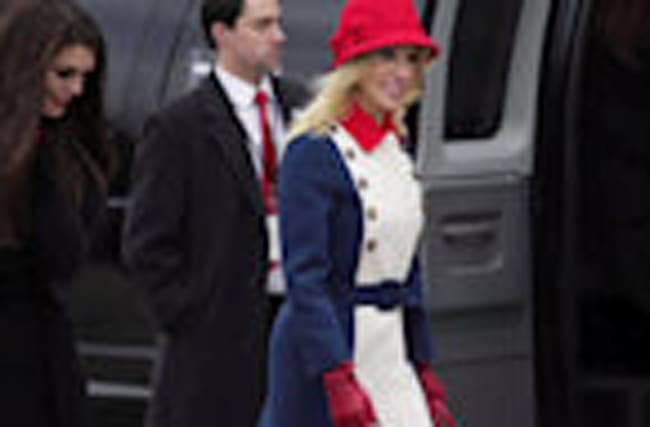 Kellyanne Conway's Patriotic Outfit Might Be Too Much