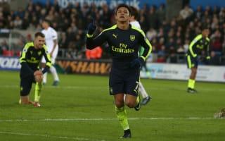 Swansea City 0 Arsenal 4: Giroud, Sanchez strike as fortune shines on Gunners
