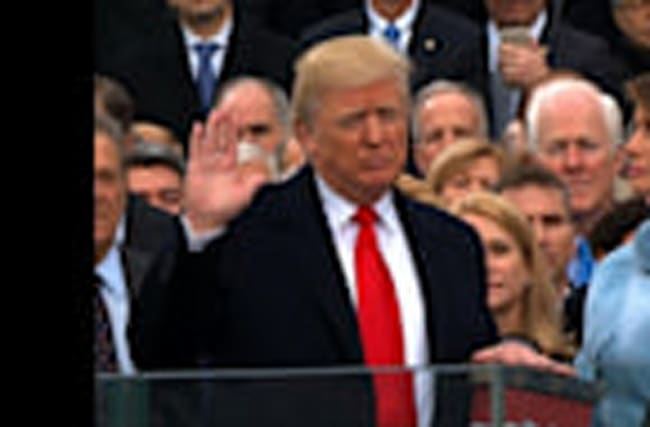 Donald J. Trump Sworn in as 45th U.S. President
