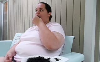 Woman can't stop gorging on car tyres