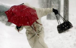 Forget April showers: Hail and temperatures of -2C predicted