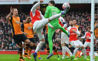 Arsenal 0 Hull City 0: Jakupovic ensures replay against blunt Gunners