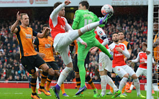 Arsenal 0 Hull City 0: Jakupovic ensures replay against blunt Gunners